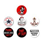Punk-Set 7 pieces (Pin 25mm)