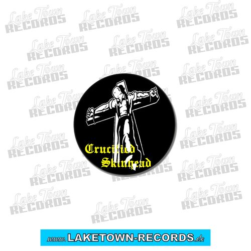CRUCIFIED SKINHEAD (Button 2,5cm)