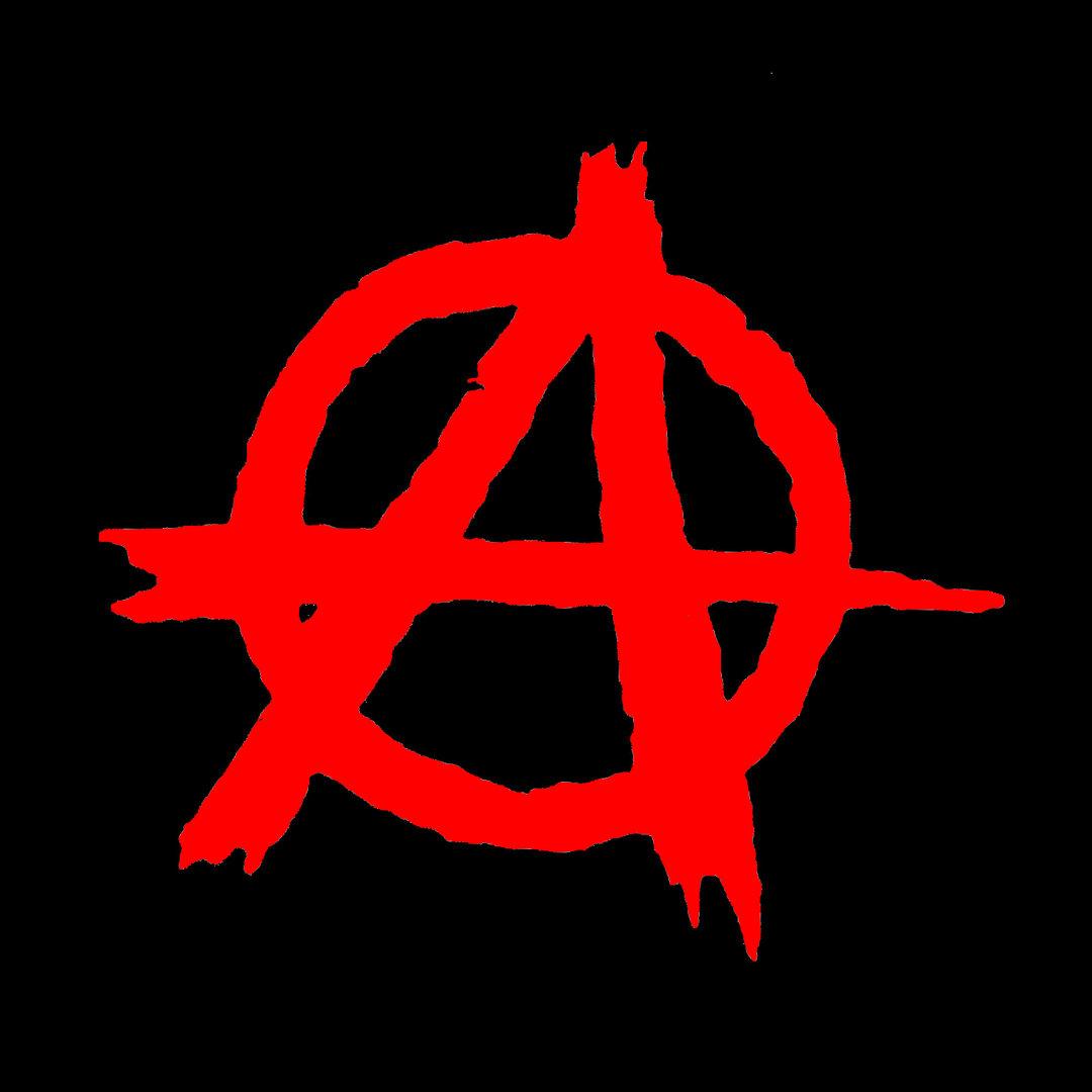 Anarchie Logo Rot Patch Laketownrecords Label Amp Onlineshop