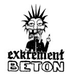 EXKREMENT BETON (printed Patch)