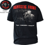AGNOSTIC FRONT - TODAY (T-Shirt) Size S Sale