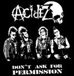 ACIDEZ - BAND  (Patch printed)