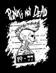 PUNKS NOT DEAD (Patch printed)