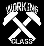 WORKING CLASS (Patch printed)