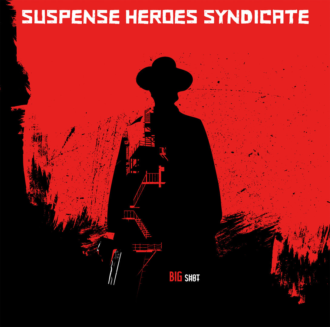 SUSPENSE HEROES SYNDICATE - BIG SHOT (LP) + DLC ltd. colored