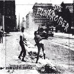 DIE PUNKROIBER - PREPARE TO REVOLT (LP) ltd. screenprint cover