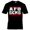 AFD SCKS (T-Shirt) schwarz S-XXL 12€ Laketown Records Shop