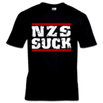 NZS SUCK (T-Shirt) black S-XXL 12€ Laketown Records Shop