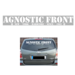 AGNOSTIC FRONT - SINCE 1982 Car Sticker 80cm 10€