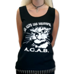 ALL CATS ARE BEAUTIFUL (Girly Tank Top) 12€ S-XL
