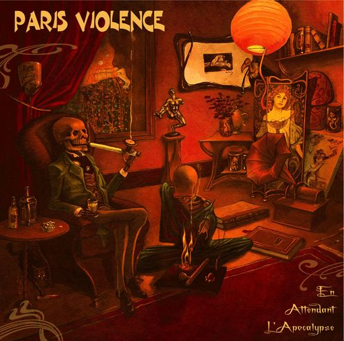 PARIS VIOLENCE - EN ATTENDANT L'APOCALYPSE (LP) limited color