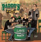 PADDY`S PUNK - SLAINTE MHAITH (LP) clear green 15€