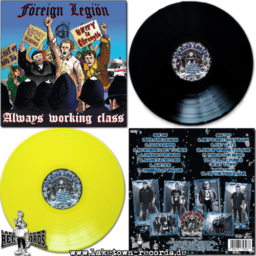 FOREIGN LEGION - ALWAYS WORKING CLASS LP + DLC limited 14€