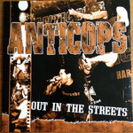 ANTICOPS - OUT IN THE STREETS ltd. blue Vinyl | screenprint + POSTER