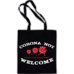 CORONA NOT WELCOME (cotton bag) 6€