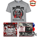 MOB MENTALITY - DEDICATION LP + T-Shirt Bundle limited