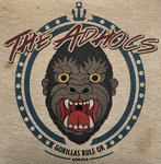 "THE ADHOCS - GORILLAS RULE OK (7"" EP) 7,90€ limited black"