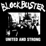 "BLOCKBUSTER - UNITED AND STRONG (7"" EP) black 3€"
