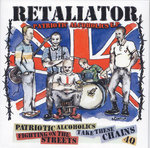 "RETALIATOR - PATRIOTIC ALCOHOLICS (7"" EP) ltd. 250 black 6€"