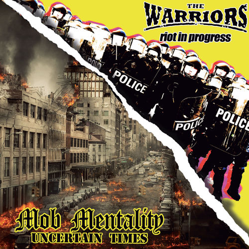 "THE WARRIORS / MOB MENTALITY - BROTHERS IN OI! (7"" EP) + DLC versch. Farben"