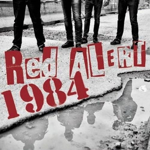 "RED ALERT / 1984 (SPLIT 10"") limited clear Vinyl 11,90€"