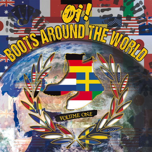 V/A OI! BOOTS AROUND THE WORLD VOL.1 (LP+CD) ltd. colors 16,90€