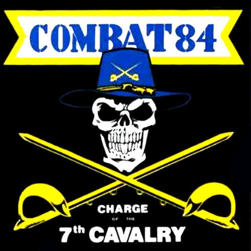 COMBAT 84 - CHARGE OF THE 7th CAVALRY (LP) + DLC ltd. white