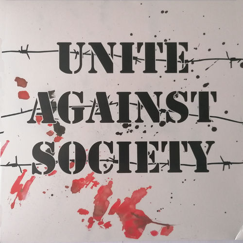 UNITE AGAINST SOCIETY - S/T (LP) 10€ ltd. red small cover damage