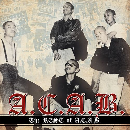 A.C.A.B. - THE REST OF A.C.A.B. (CD) 12€
