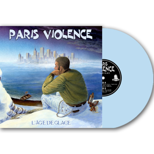 PARIS VIOLENCE - L'ÂGE DE GLACE (LP) 15,90€ limited baby blue