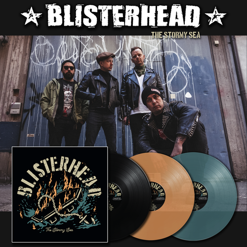 BLISTERHEAD - THE STORMY SEA (LP) + DLC 180g ltd. versch. Farben Pre-Order