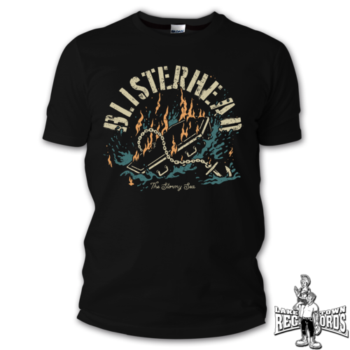 BLISTERHEAD - THE STORMY SEA (T-Shirt) S-3XL