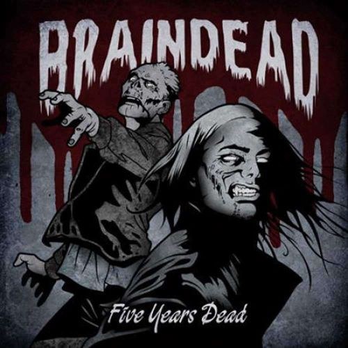 BRAINDEAD – FIVE YEARS DEAD (LP) lim. blue/red 12,90€