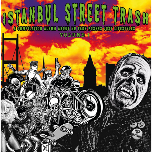 V/A ISTANBUL STREET TRASH VOL.1 (LP) lim.clear green 13,90€