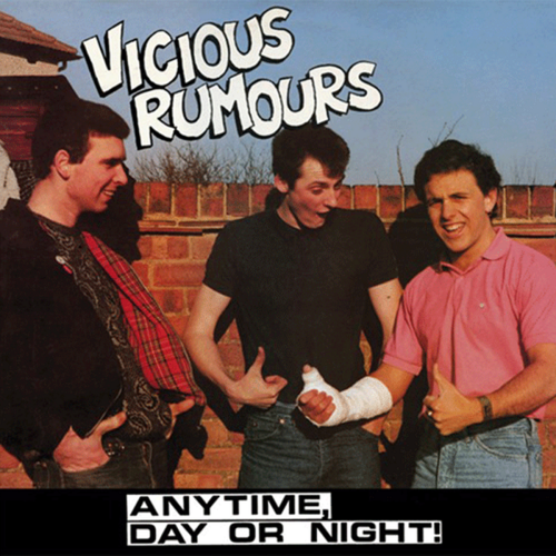 VICIOUS RUMOURS - ANYTIME, DAY OR NIGHT (LP) black Vinyl