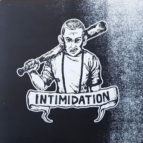 "INTIMIDATION - DEMO 2020 (7"" EP) black Vinyl"